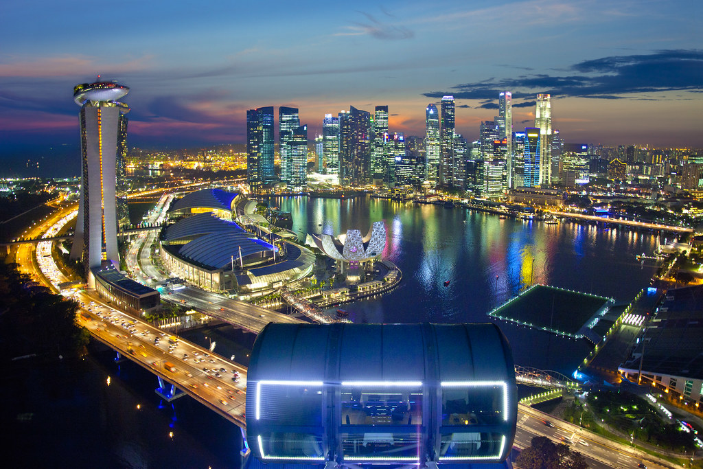 Singapore Flyer - Towards a perfection View | Singapore ...
