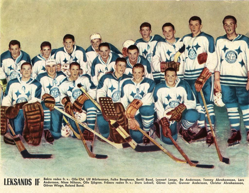 Leksands IF 1966 lagbild | Leksands IF 1966 lagbild från ...