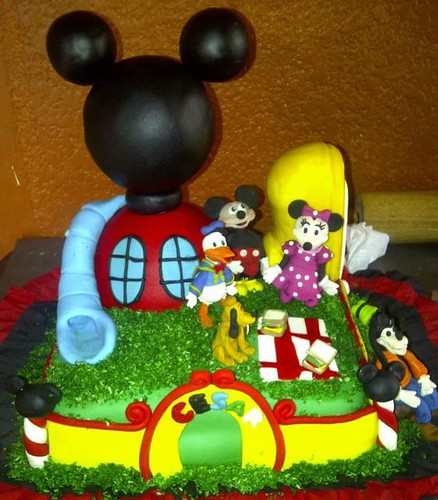 Chupeteras casa Mickey Mouse - Imagui