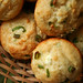 goat cheese scallion muffins 5