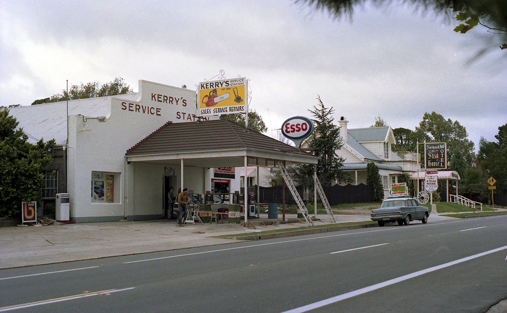 Kerry's Service Station, Blackheath | Notes: In an ... Negative Sign
