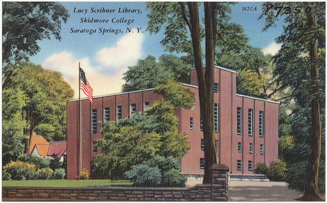 Skidmore College Library Room Reservation