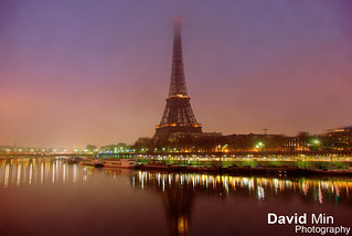 Paris, France - Eiffel Tower @foggy morning | by GlobeTrotter 2000