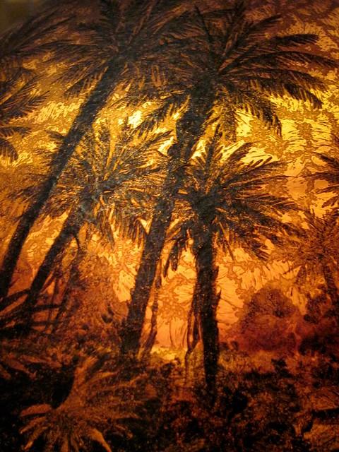 Palm Tree Lamps Decor