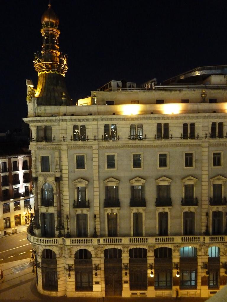 Vista nocturna desde la terraza del casino de madrid flickr for Terrazas nocturnas madrid