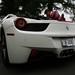 White 458 Italia