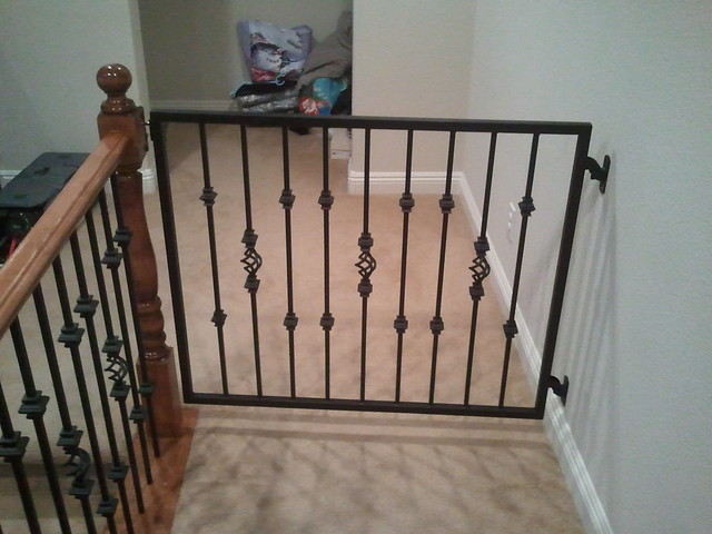 Steel Baby Gate - Flickr - Photo Sharing!