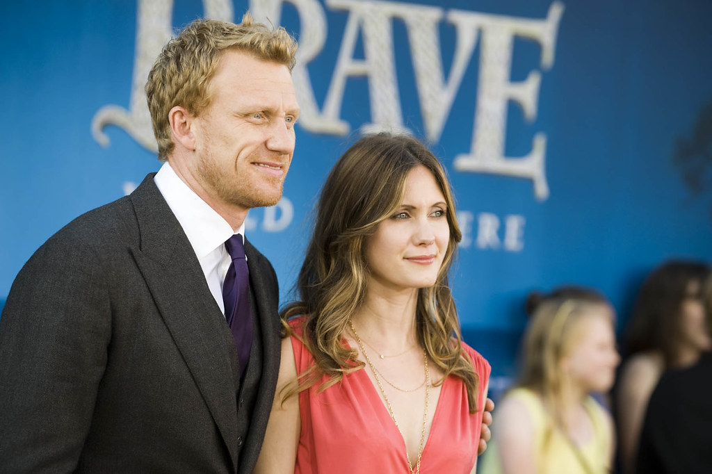 kevin mckidd and wife at brave premiere kevin mckidd who