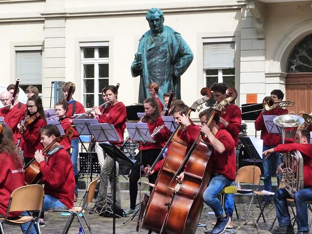 Músicos en Heidelberg