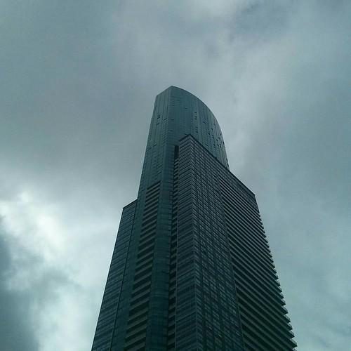 Looking up #toronto #condos #tower #architecture #aura