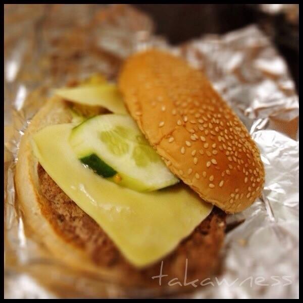 Hamburger and tropical hut 2 essay