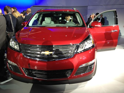 2013 Chevrolet Traverse at the 2012 New York International Auto Show | by lotprocars
