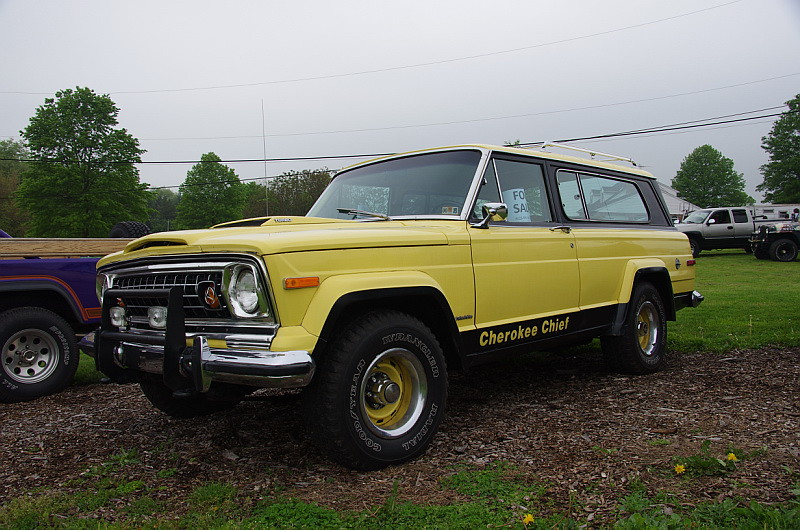 Jeep Cherokee Forum >> 1978 Jeep Cherokee Chief With Wagoneer Grill   geepstir   Flickr