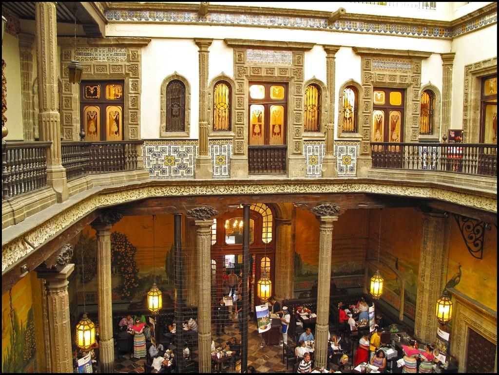 Interior casa de azulejos house of tiles mexico city for House of tiles mexico city