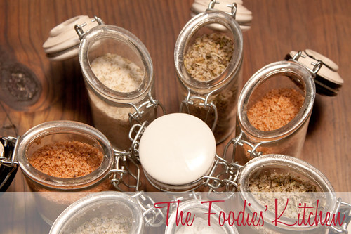 Mother's Day Gift Idea: Seasoning Salts and Vanilla Sugar | by The Foodies' Kitchen