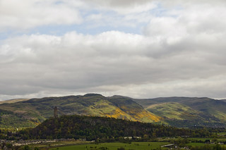 Dumyat from Stirling Castle | by Margaret Bourne