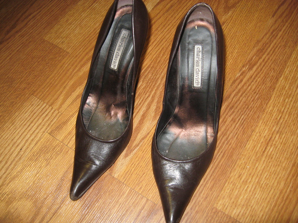 Worn Womens Shoes