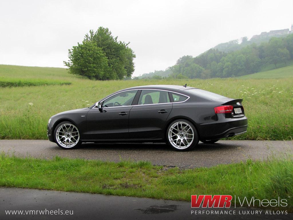 Vmr Wheels V710 Hyper Silver Audi S5 Sportback Vmr