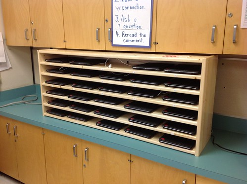 Our iPad Shelf | by Kathy Cassidy