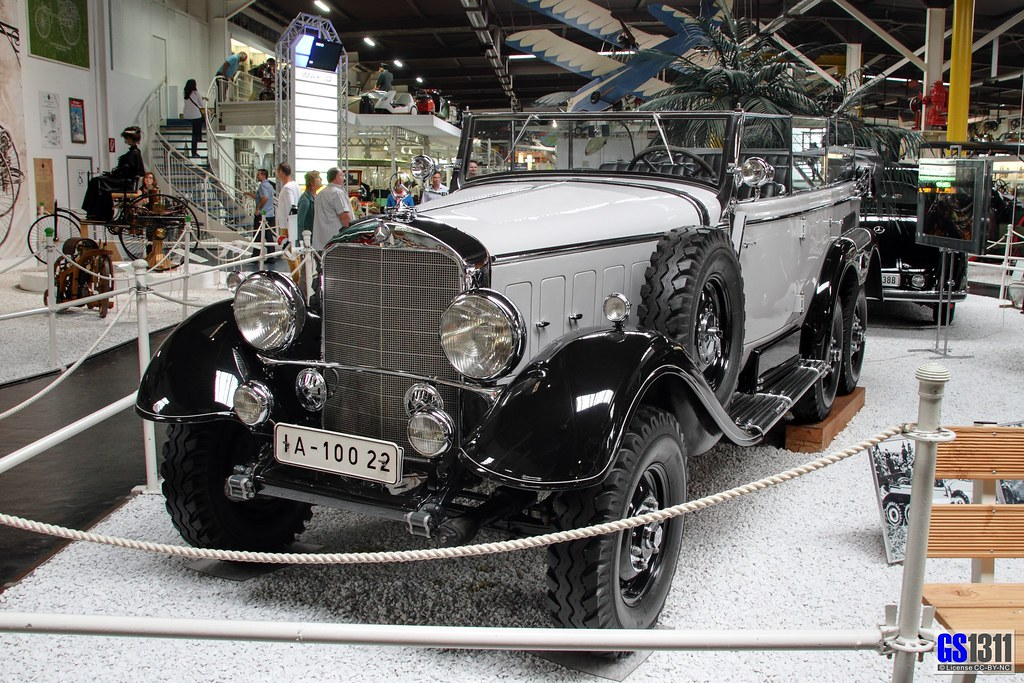 1934 1939 Mercedes Benz W31 Typ G4 The Mercedes Benz