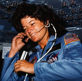 Sally Ride | by University of Houston Digital Library