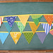 colorful fabric flag garalnd