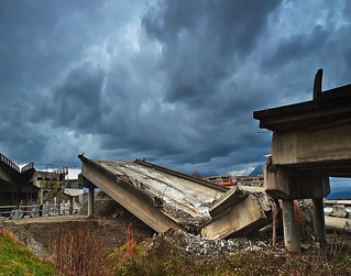 Overpass Destruction | by Christopher J. Morley