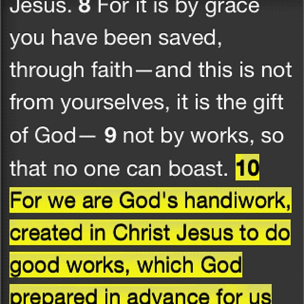Ephesians 612  For our struggle is not against flesh and