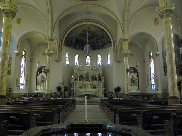 Sanctuary Of Immaculate Conception Catholic Church Flickr Photo Sharing