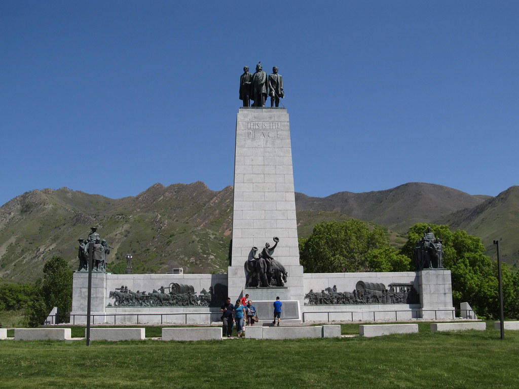 This Is The Place Monument Salt Lake City Utah The