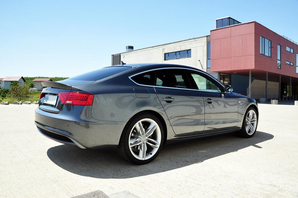 Audi A5 Sportback S Line 2012 Gasper Vidovic Flickr
