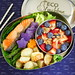 Salmon Asparagus and Potatoes Bento