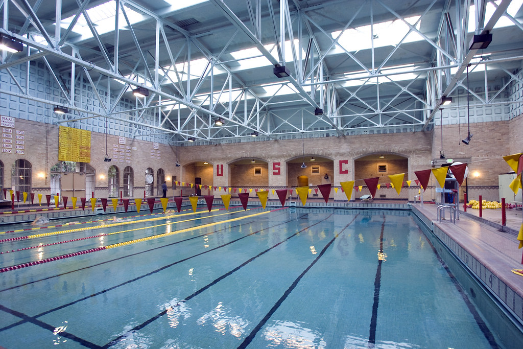 Indoor Pool Indoor Pool Usc University Of Southern