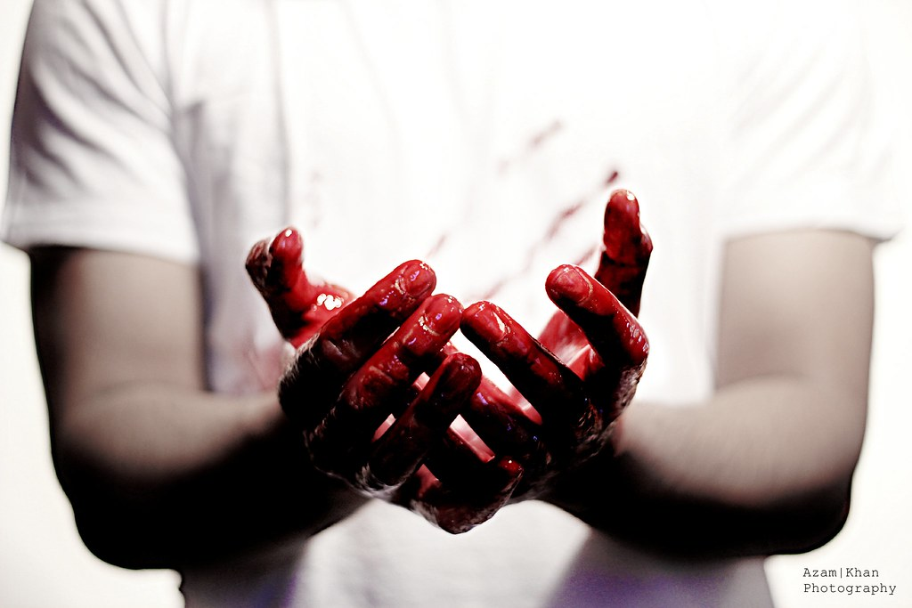 The meaning and origin of the expression: Caught red-handed