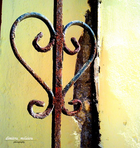 rusty heart, time signed | by dimitra_milaiou