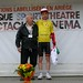 René BUSCA (Vice président de la Ronde de l'Isard), Bjorg LAMBRECHT (Team Lotto Soudal)