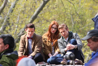 Doctor Who filming in Central Park, New York City | by fe505