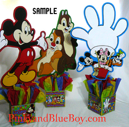 Mickey Mouse Clubhouse Birthday Party Decorations Characte