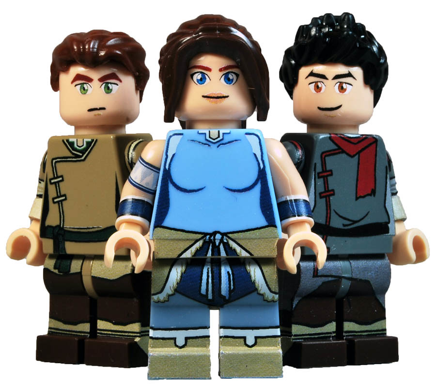 Three Quarters Of Team Avatar. Have Been