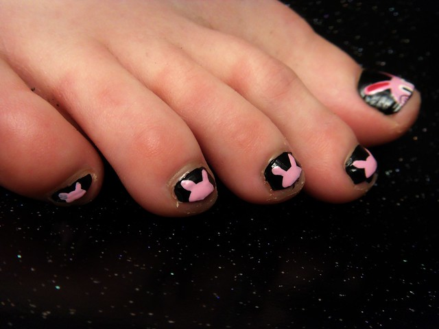Painted Black Toenails Meaning