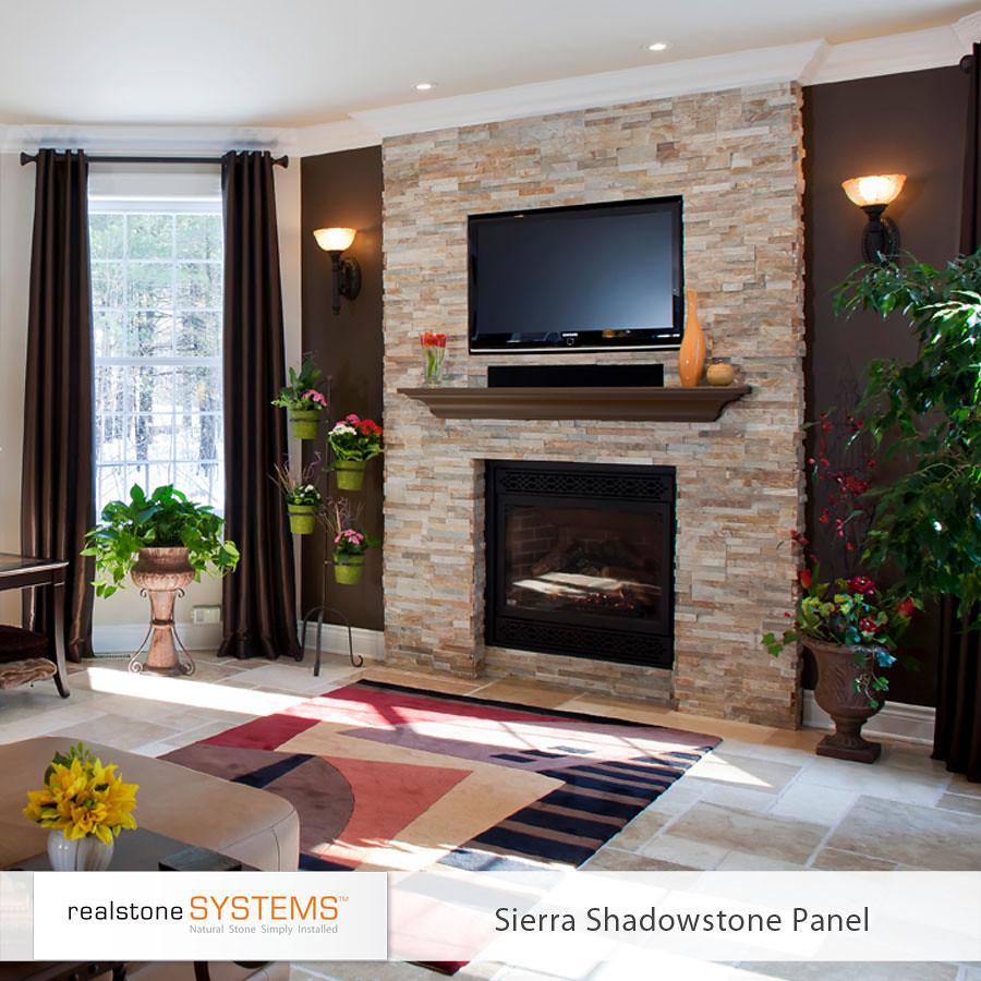 Sierra Shadowstone Fireplace | realstonesystems | Flickr