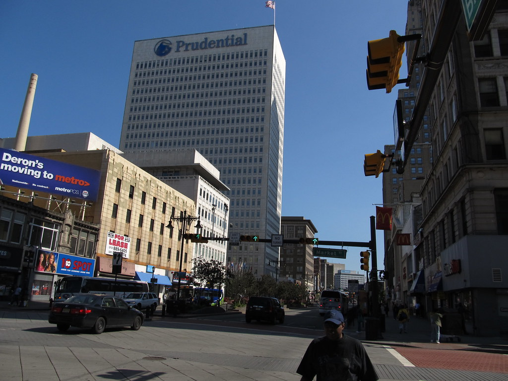 Prudential Plaza Downtown Newark New Jersey Prudential