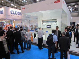 ABBRobotics at Automatica 2012 | by ABB Robotics