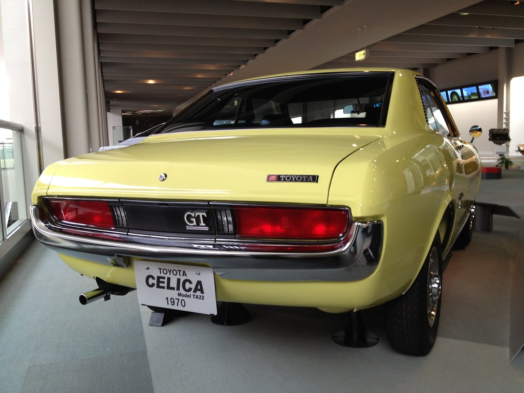 toyota celica model ta22 1970 famous for its full choice flickr. Black Bedroom Furniture Sets. Home Design Ideas