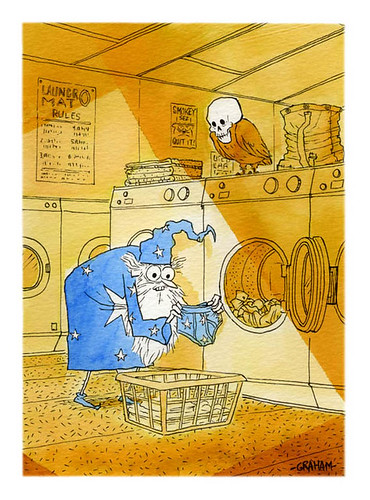 Wizard laundry | by Grickle