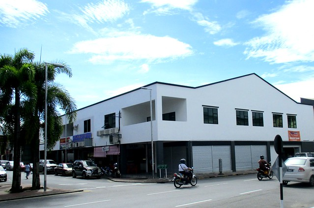 Blacksmith Road shops, Sibu