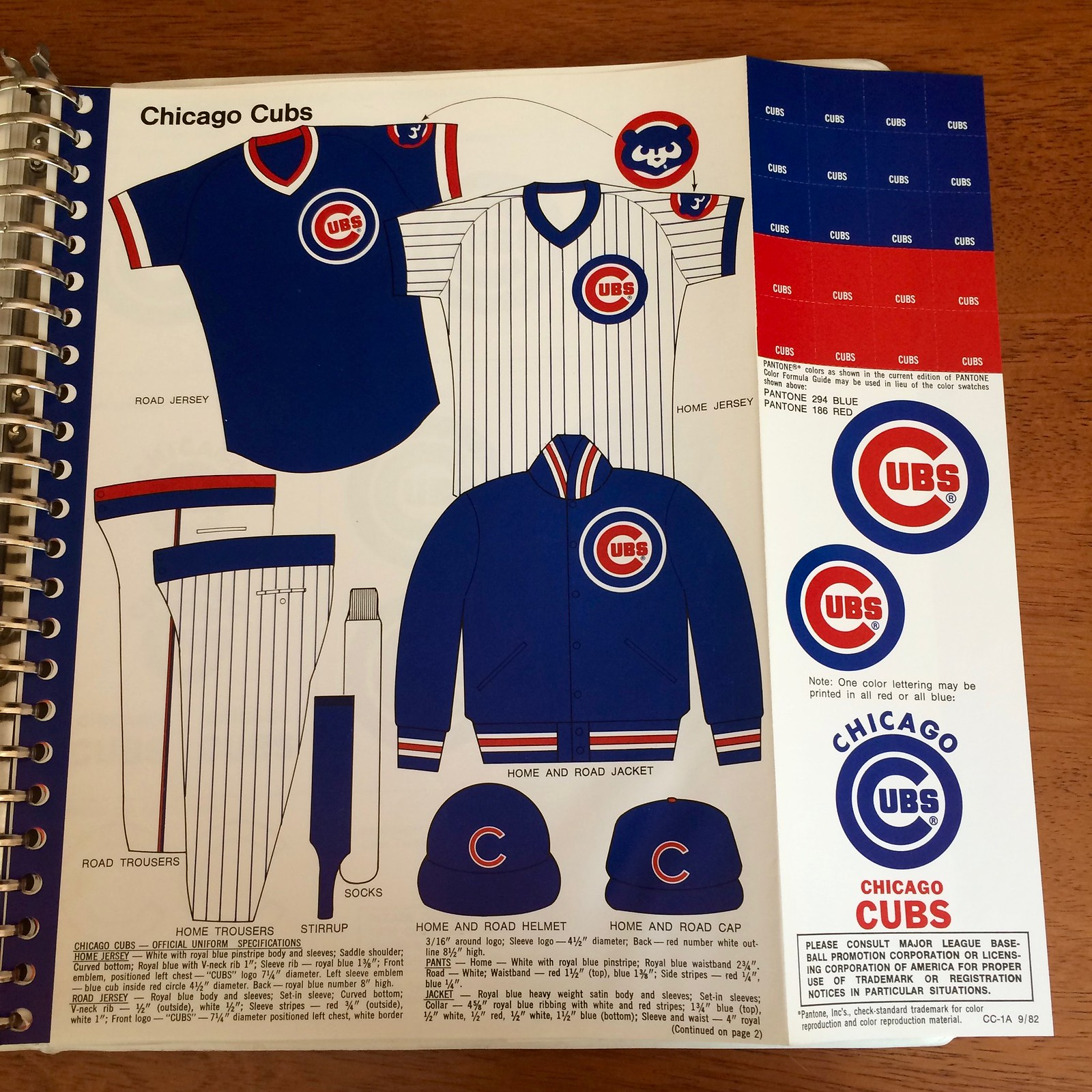 ba953ed5504 Uni Watch Show and Tell  An Early- 80s MLB Style Guide
