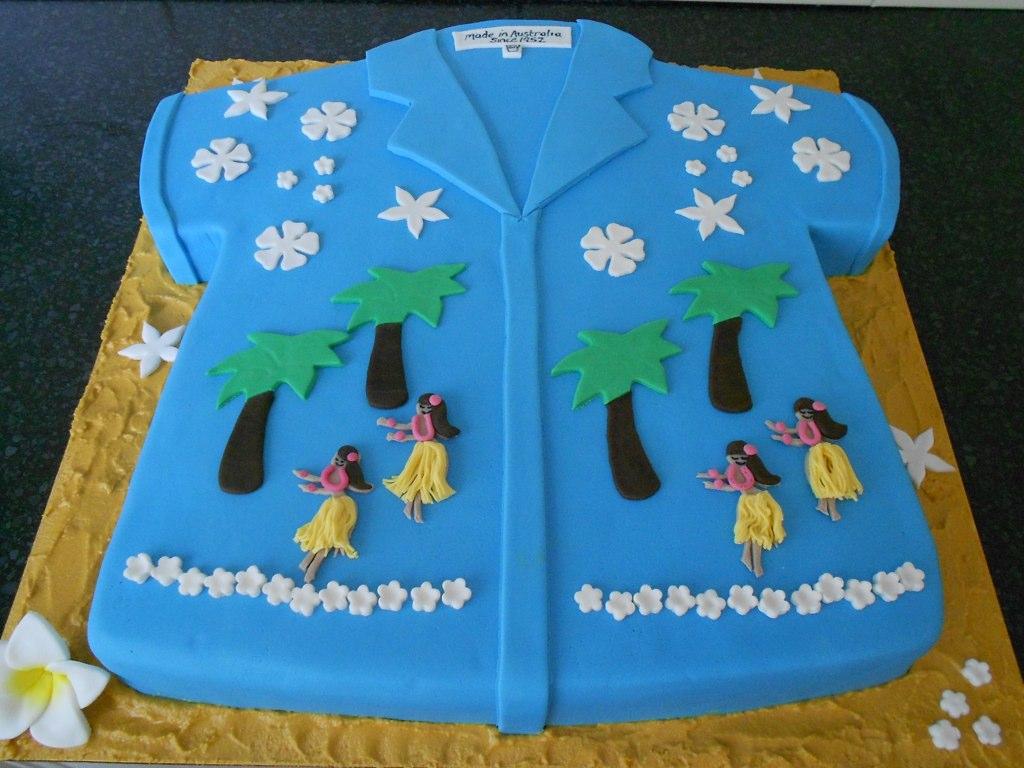 Hawaiian Shirt Cake Pan