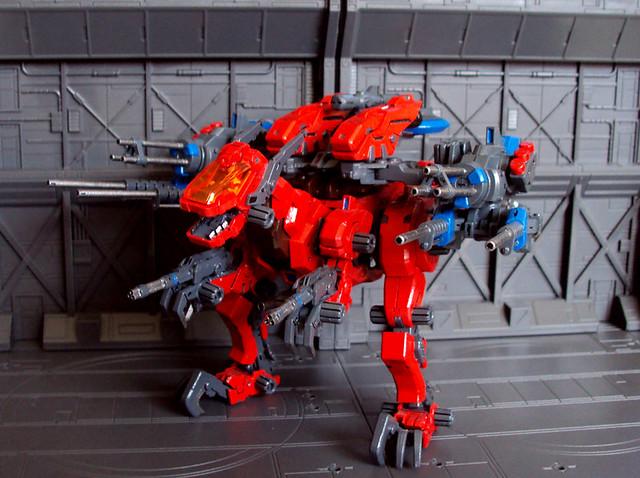 Zoids T Rex Zoids gun sniperZoids T Rex