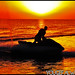 enjoy jet skiing at the sunrise in Bnaider Beach - kuwait !